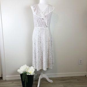 Ivanka Trump lace dress Sz 12